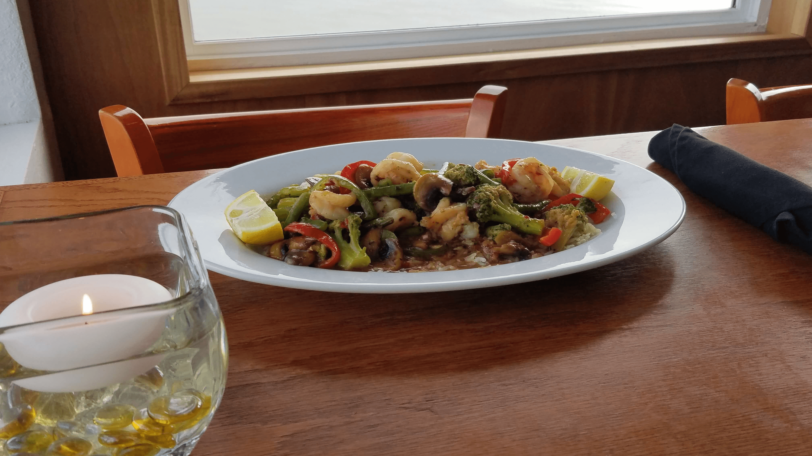 Oriental Shrimp Weekly Specials Island View