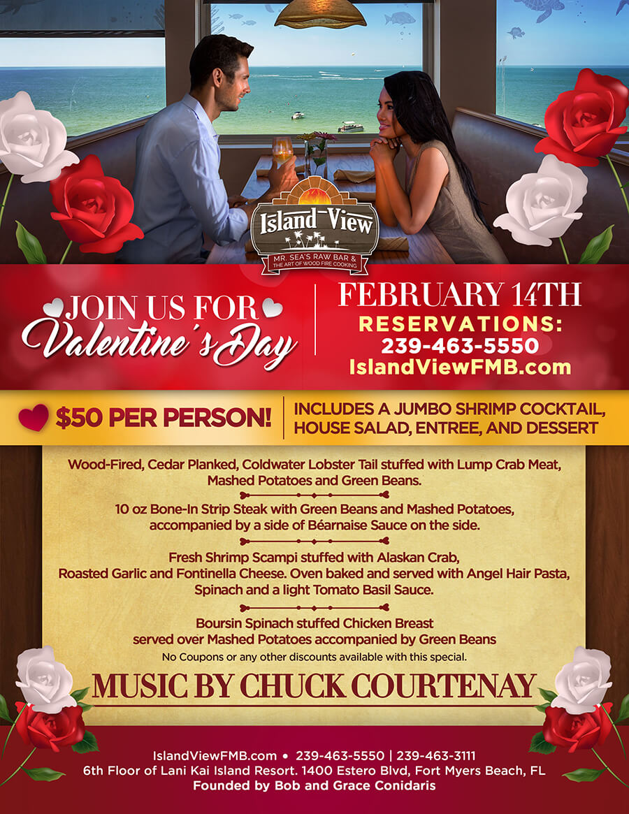 Valentine S Day Dinner Special 2017 Fort Myers Beach